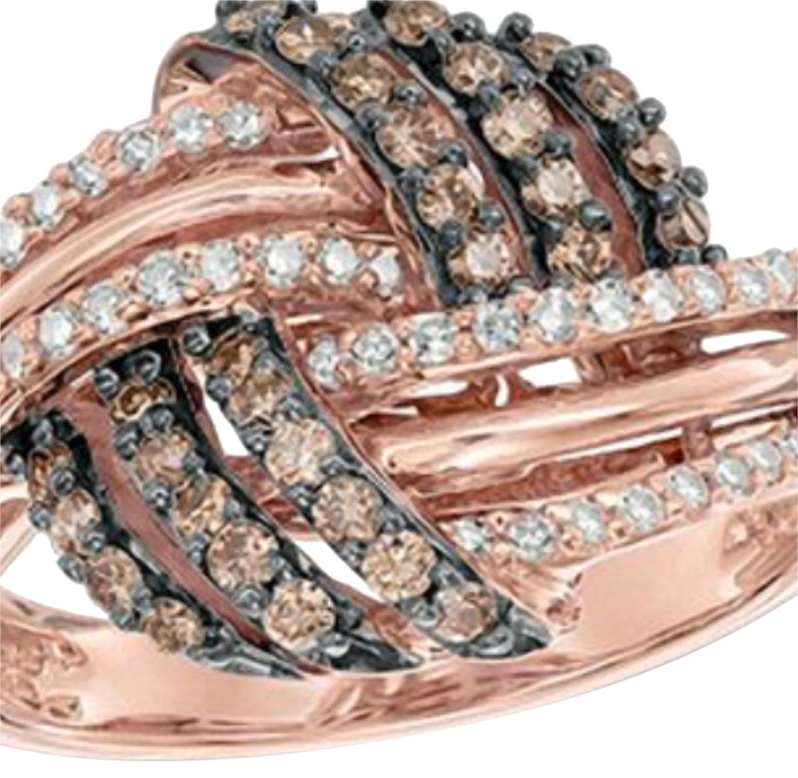 Kay Jewelers Rose Gold Kays 12k Chocolate White Diamond Get 100