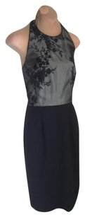 Kay Unger Elegant Embroidered Halter Priced To Sell Dress