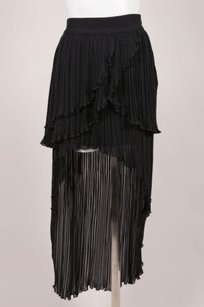 Keepsake the Label Black Ruffle Pleated Maxi Skirt