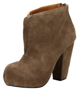 Kelsi Dagger Bootie Taupe Suede Boots
