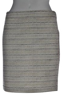 Kenar Womens Ivory Textured Skirt Multi-Color