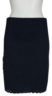 Kenar Womens Nacy Cut Out Skirt Navy