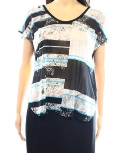 Kenneth Cole 100% Polyester Top