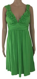 Kenneth Cole short dress Neon Lime Green on Tradesy