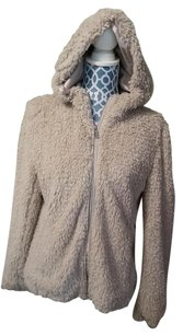 Kenneth Cole Faux Fur Tan Jacket