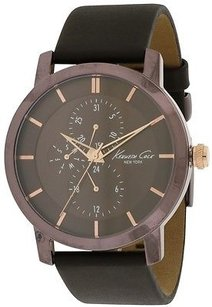 Kenneth Cole Kenneth Cole York Leather Mens Watch Kc8107