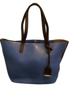Kenneth Cole Reaction Tote in Blue/ Black