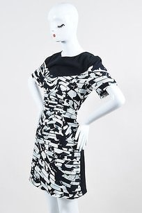 Kenzo short dress Multi-Color Black And White on Tradesy