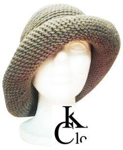 Khosi Clothing & Accessories Vintage Style Crochet Flapper Wide Brim Cap Beanie Hat