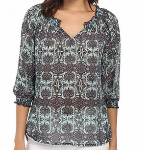 KUT from the Kloth 100% Polyester 3/4 Sleeve Top