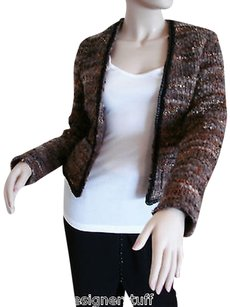 L'AGENCE Lagence Tweed With Multi-Color Jacket