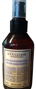 L'Occitane AROMACHOLOGIE RELAXING MASSAGE OIL 3.4FL.OZ