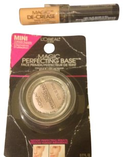 L'Oréal NEW 2 Peice #1 MAGIC Perfecting Base For Face-#2-Same As #1-For Eyes