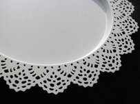 Lace Metal Charger Plate Placemat Mat Dish