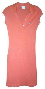 Lacoste short dress Orange on Tradesy