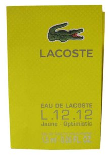 Lacoste L.12.12 Jaune Optimistic - Eau De Parfume Sample spray 0.05oz