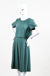 Lafayette 148 New York short dress Green Wool on Tradesy