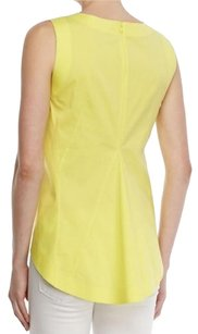 Lafayette 148 New York Top Yellow