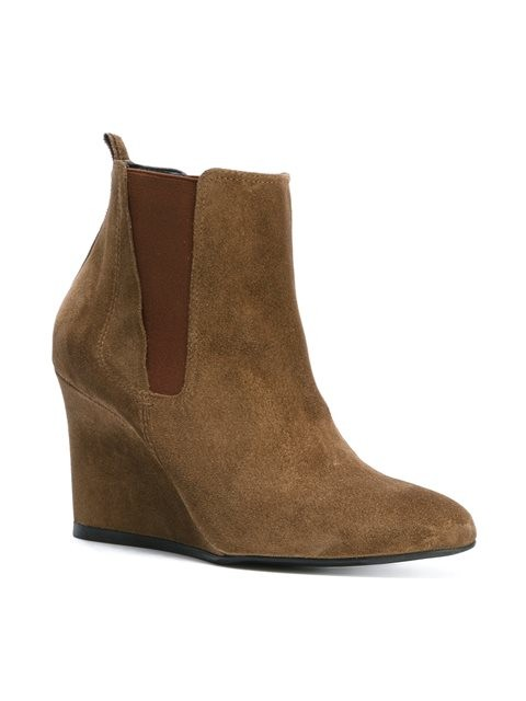Lanvin Brown Suede Chelsea Boots clearance tumblr buy cheap find great PFrVVZG