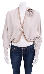 Lanvin Ivory Cotton Sweater