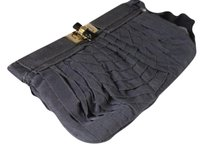 Lanvin Gray Clutch
