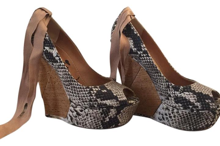 lowest price cheap price Lanvin Printed Canvas Pumps sale new styles 2014 new for sale buy cheap fashion Style hNVx5g