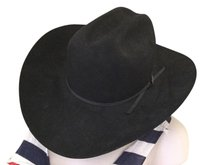Larry Mahan Larry Mahan's Cowboy Hat Black