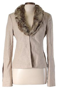 Laundry by Shelli Segal Faux Fur Tweed Coat