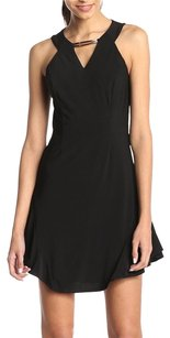 Laundry by Shelli Segal Halter Chain Gold Party Dress