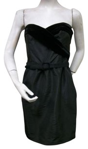 Laundry by Shelli Segal short dress Black Coordinating Belt on Tradesy