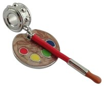 Lauren G Adams Lauren G Adams Artist Palette Brush Charm Bead Fits All Brands