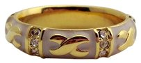 Lauren G Adams Lauren G Adams Gold Elegant Hugs Stackable Ring Pink 8 R-49906g