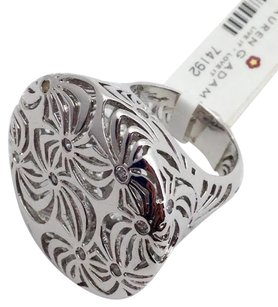 Lauren G Adams Lauren G Adams Pinwheel Cocktail Ring Rhodium 7 R-71901