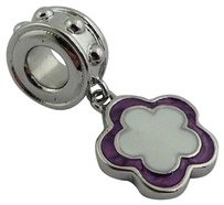 Lauren G Adams Lauren G Adams Rhodium Enamel Dangle Flower Charm Bead Fits All Brands