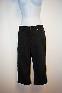 Lauren Ralph Lauren Black Jean Capri/Cropped Denim