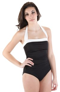 Lauren Ralph Lauren Lauren Ralph Lauren Black Bel Aire Swimsuit