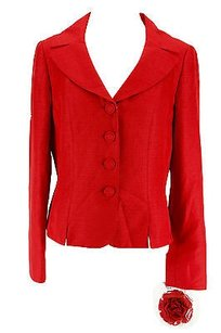 Le Suit Le Suit Womens Suit Red Polyester -