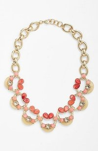 Lee Angel Nordstrom Lee By Lee Angel Soleil Embellished Link Necklace