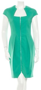 Lela Rose Sheath Cocktail Structured Bright Dress