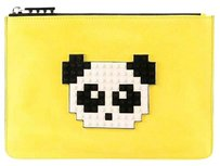 Les Petites Collection yellow Clutch