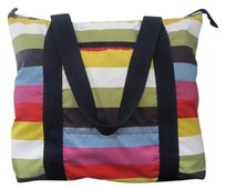 LeSportsac Large Tote in Multi-Color Candy Stripe