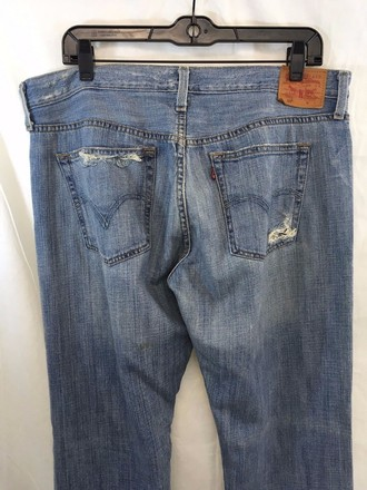 Levi's Levis Vintage 501 Light Wash Distressed Jeans best