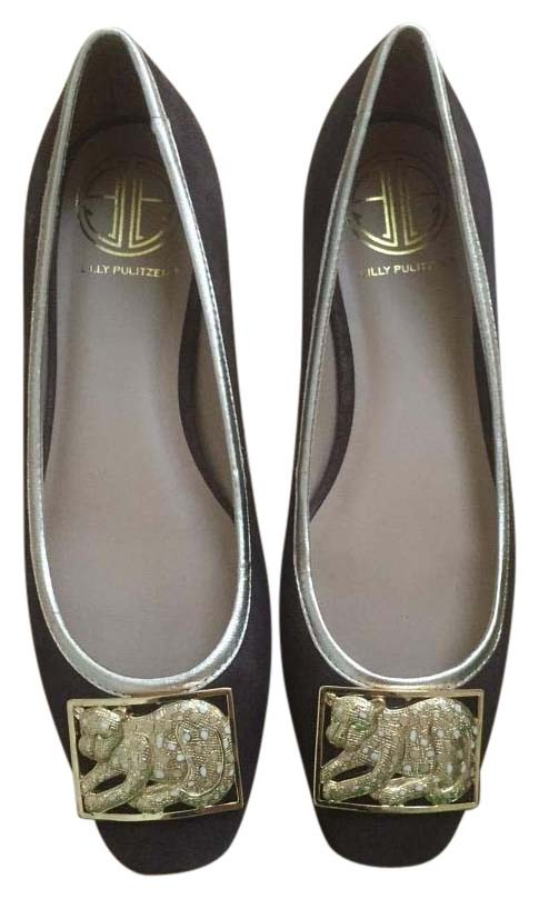 ad84a5be9f29 Lilly Pulitzer Brown Cheetah Flats Size US 7 Regular (M