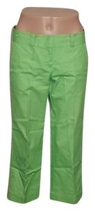 Lilly Pulitzer Capri/Cropped Pants Lime Green