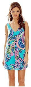Lilly Pulitzer short dress Sea Blue on Tradesy