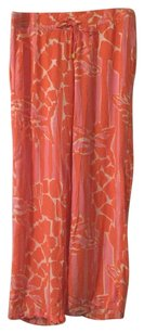 Lilly Pulitzer for Target Wide Leg Pants orange