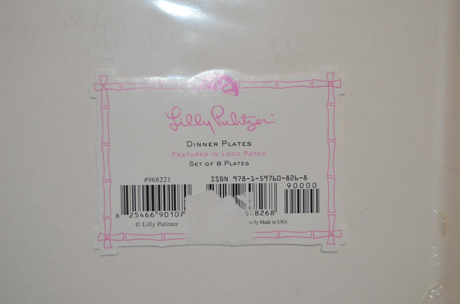 12 & Lilly Pulitzer Loco Patch Dinner Paper Plates Featured In Patch-set ...