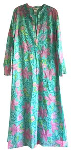 Green pink Maxi Dress by Lilly Pulitzer Maxi