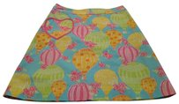 Lilly Pulitzer Size 2 Cotton Skirt Pastals