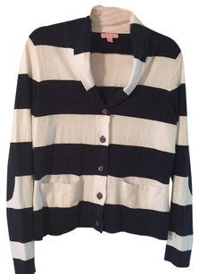 Lilly Pulitzer Striped Cardigan Striped Cardigan Navy Sweater